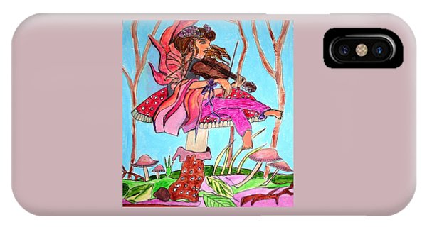 The Violinist Fairy IPhone Case