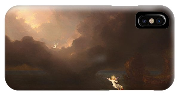 iPhone Case - The Voyage Of Life - Old Age by Thomas Cole