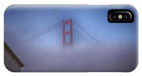 IPhone Case featuring the photograph The Warming Hut by Michael Hope