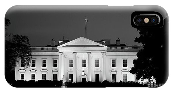 IPhone Case featuring the photograph The White House by Jackson Pearson