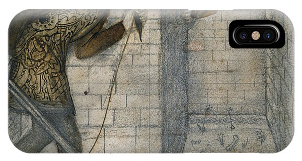 Minotaur iPhone Case - Theseus And The Minotaur In The Labyrinth by Edward Burne-Jones