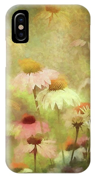 Thoughts Of Flowers IPhone Case