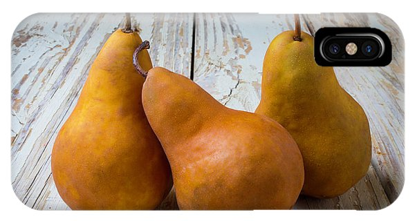 Three Golden Pears IPhone Case