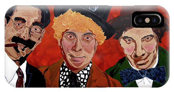 Three's Comedy IPhone Case