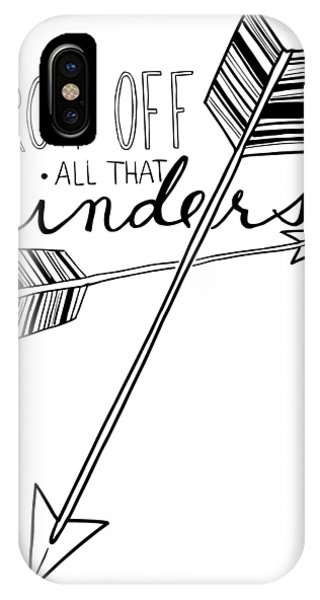 Throw Off All That Hinders IPhone Case