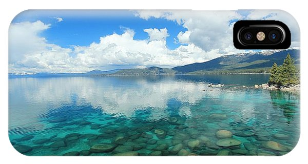 IPhone Case featuring the photograph Thunderclouds by Sean Sarsfield