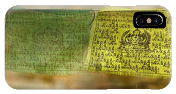 Tibetan Prayer Flags IPhone Case