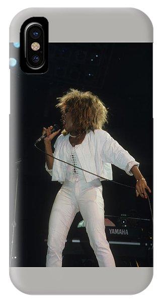 Tina Turner IPhone Case
