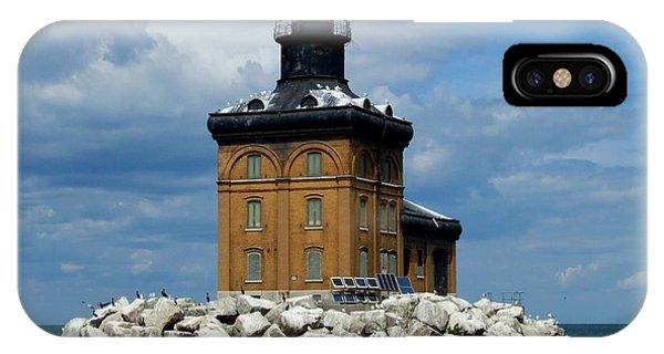 Toledo Harbor Lighthouse IPhone Case