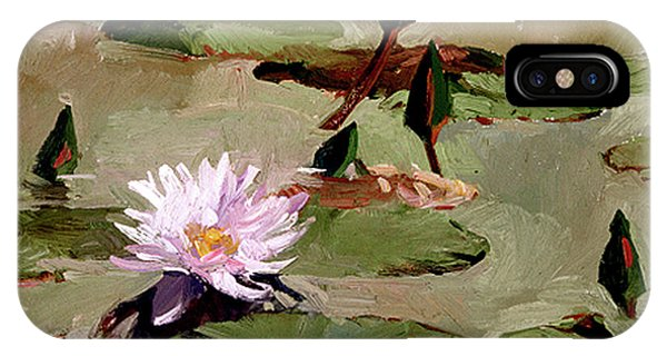 Tomorrow's Blooms- Water Lilies IPhone Case