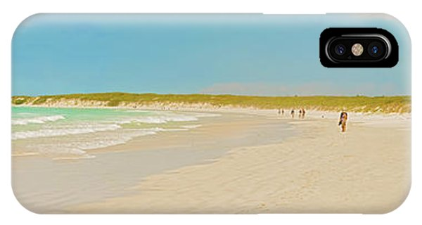 Tortuga Bay Beach At Santa Cruz Island In Galapagos  IPhone Case