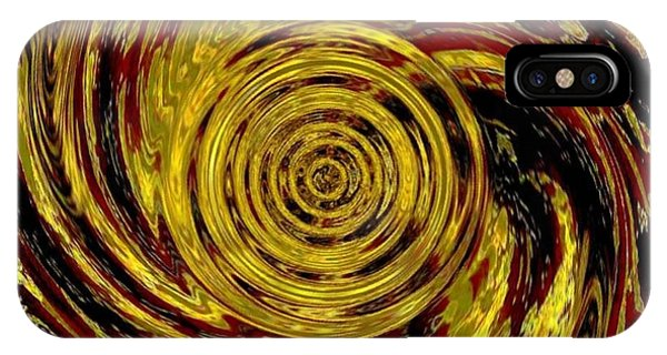 Total Water Swirl Effect IPhone Case