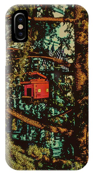 Train Bird House IPhone Case