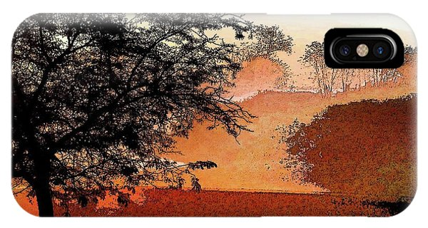 Tree In Morning Light IPhone Case