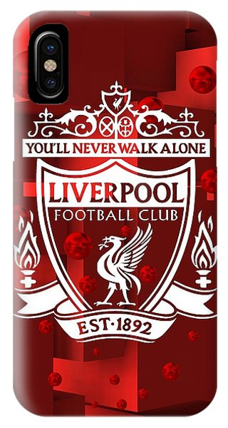 Tribute To Liverpool 3 IPhone Case