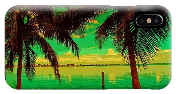 Tropic Nite Phone Case by Florene Welebny