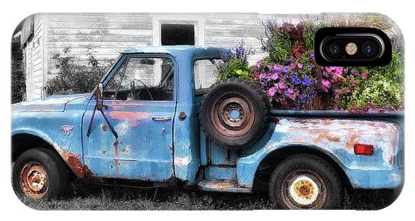 Truckbed Bouquet IPhone Case
