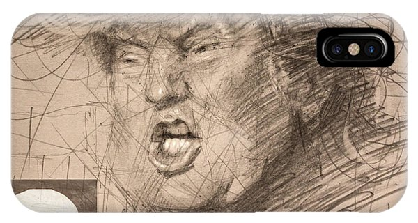 Election iPhone Case - Trump by Ylli Haruni