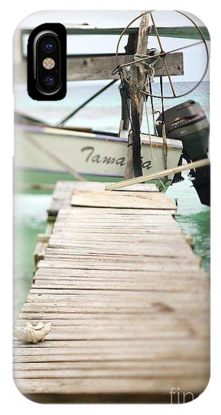 Powerboat iPhone Case - Tuamotu Isles by Kyle Rothenborg - Printscapes