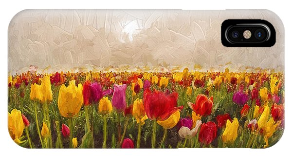 Tulip Field IPhone Case