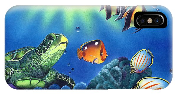 Turtle Dreams IPhone Case
