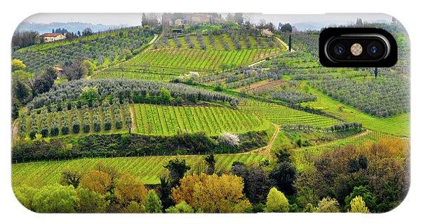 Tuscany Landscape IPhone Case