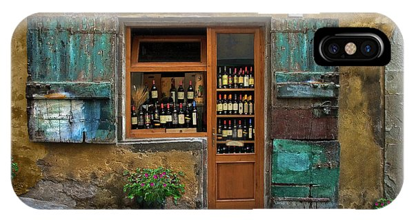 Tuscany Wine Shop 2 IPhone Case