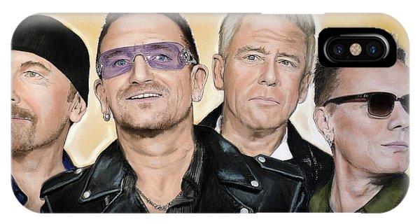 U2 Band IPhone Case