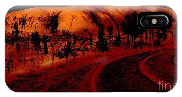 Uluru Sunrise IPhone Case