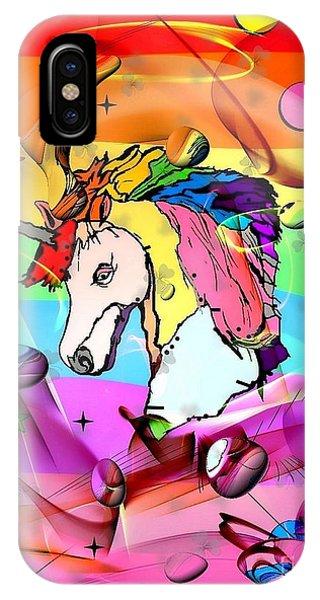 Unicorn Popart By Nico Bielow IPhone Case