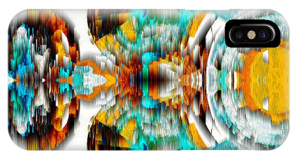 IPhone Case featuring the digital art Untitled Series 992.042212 -c by Kris Haas