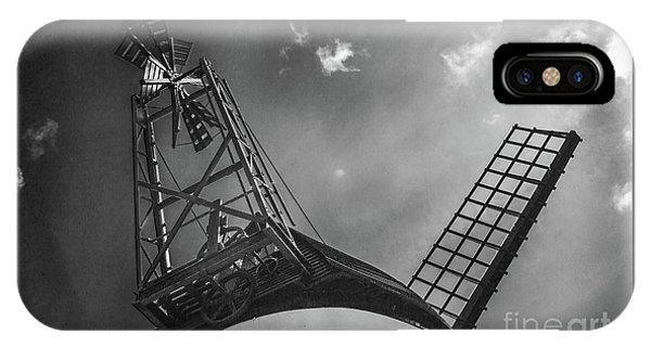 Unusual View Of Windmill - St Annes - England IPhone Case