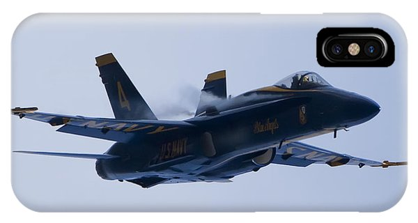 Us Navy Blue Angels High Speed Turn IPhone Case