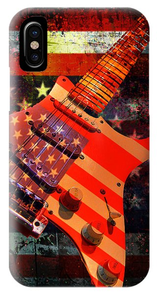Usa Strat Guitar Music IPhone Case