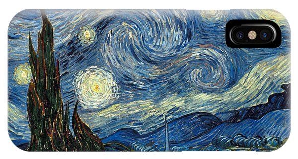 Expressionism iPhone Case - Van Gogh Starry Night by Granger