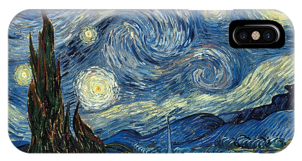 Famous Artist iPhone Case - Van Gogh Starry Night by Granger
