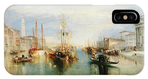 Porch iPhone Case - Venice, From The Porch Of Madonna Della Salute by Joseph Mallord William Turner