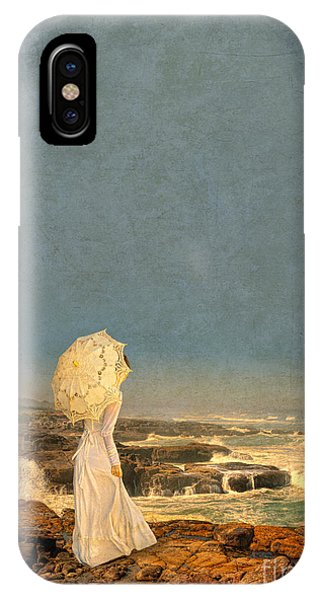 Victorian Lady By The Sea IPhone Case