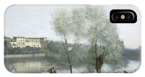 iPhone Case - Ville-d'avray by Jean-baptiste-camille Corot