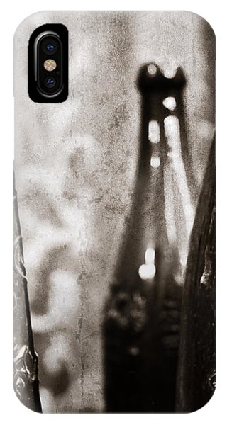 Vintage Beer Bottles. IPhone Case