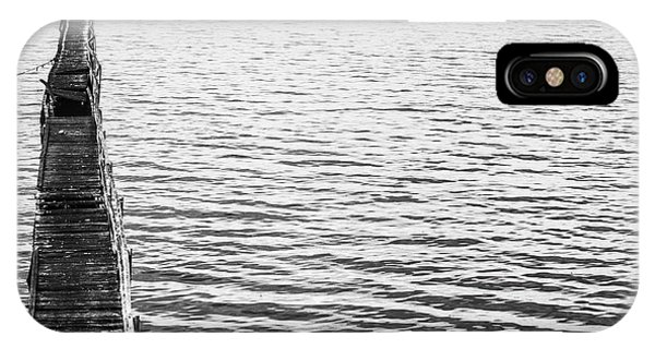 Monochrome iPhone Case - Vintage Marine Scene by Jorgo Photography - Wall Art Gallery