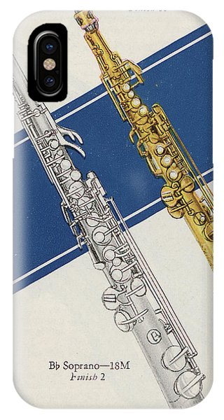 Silver And Gold iPhone Case - Vintage Poster by American School
