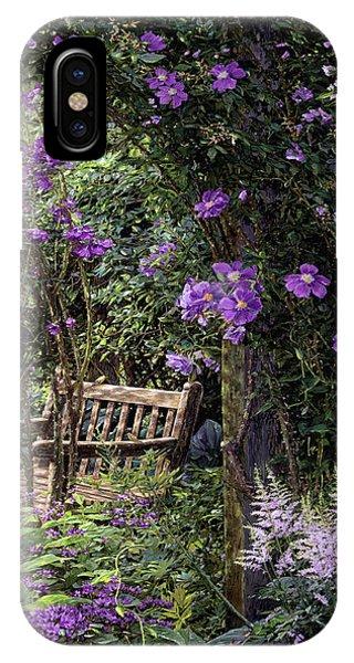 Violet Garden Respite IPhone Case