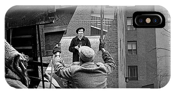 Vivian Maier Self Portrait Probably Taken In Chicago Illinois 1955 IPhone Case