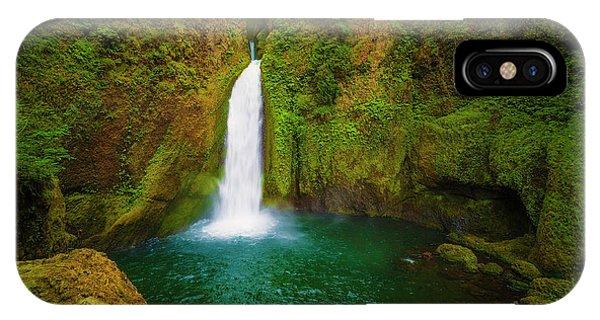 Wahclella Falls Columbia River Gorge IPhone Case
