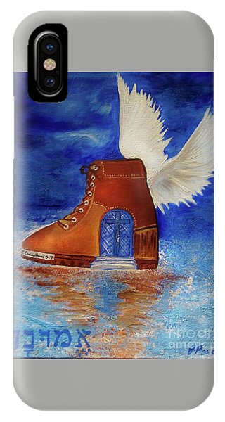 IPhone Case featuring the painting Walk By Faith by Jennifer Page