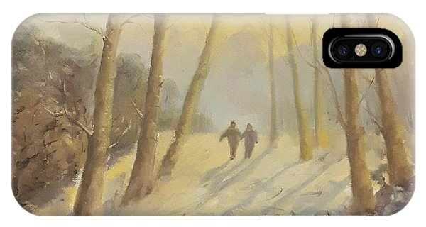Walking In Sunshine IPhone Case