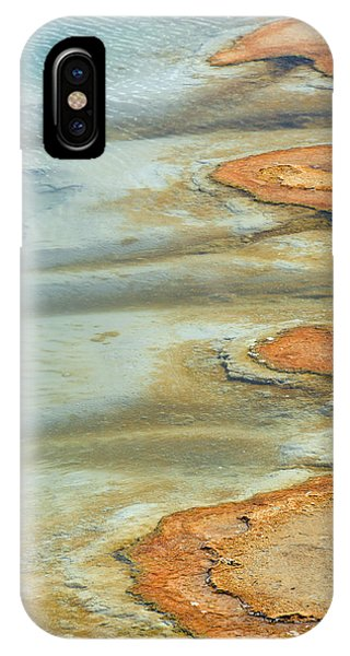 Wall Pool In Yellowstone National Park IPhone Case