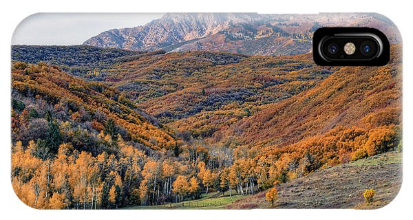 Wasatch Moutains Utah IPhone Case