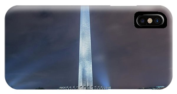 IPhone Case featuring the photograph Washington Monument by Theodore Jones